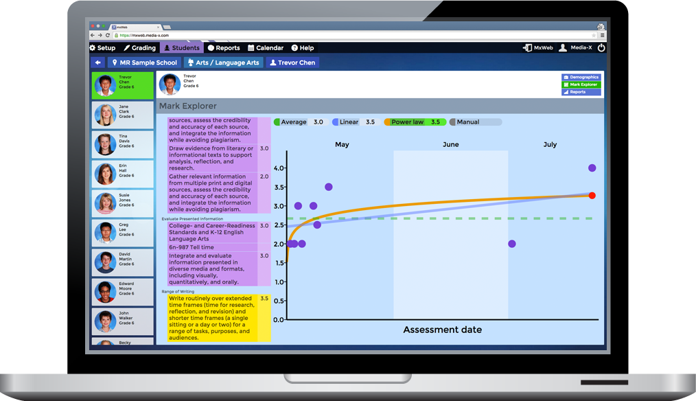marzano standards based gradebook