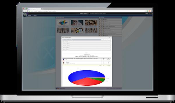eWalk screenshot on a monitor