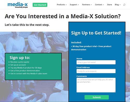 Media-X Site 3